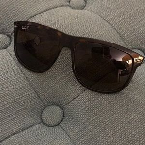 Authentic Ray-Ban tortoise sunglasses